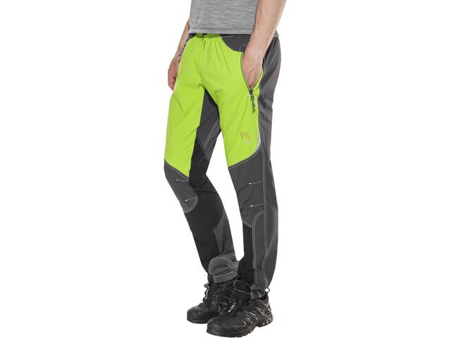 Karpos Rock Pantalones Hombre, apple green/dark grey